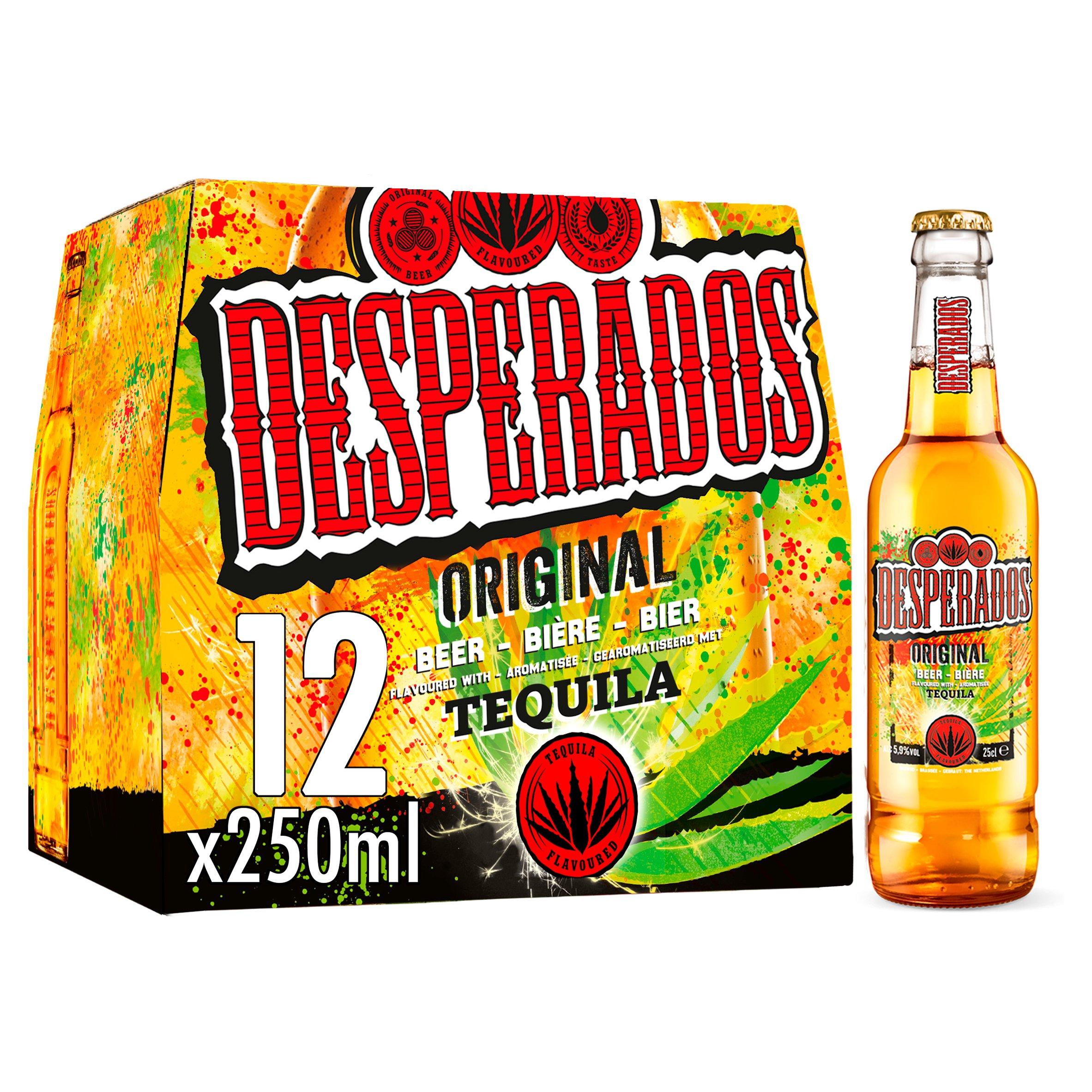 Desperados Tequila Flavoured Beer 12X250ml