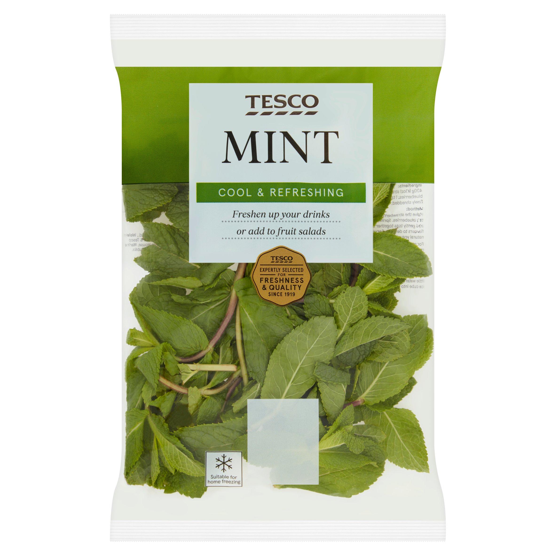 TESCO > Fresh Food > Tesco Mint 30G