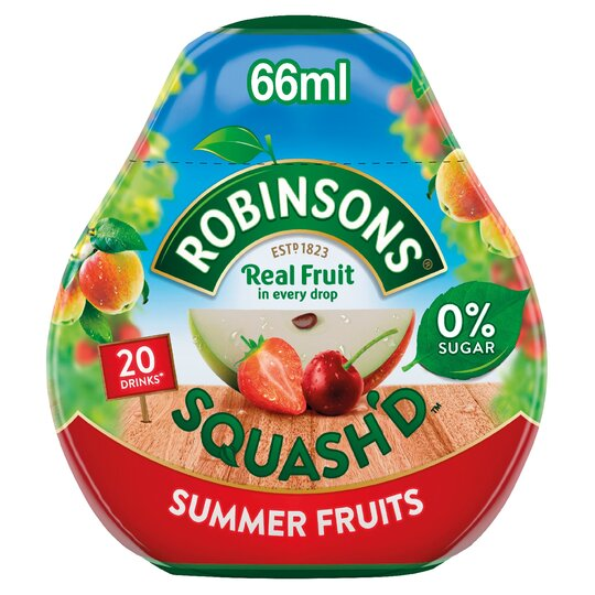 Robinsons Squash'd 66Ml Summer Fruits