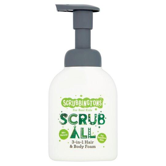 Scrubbington's 3 In 1 Hair And Body Foam 200Ml