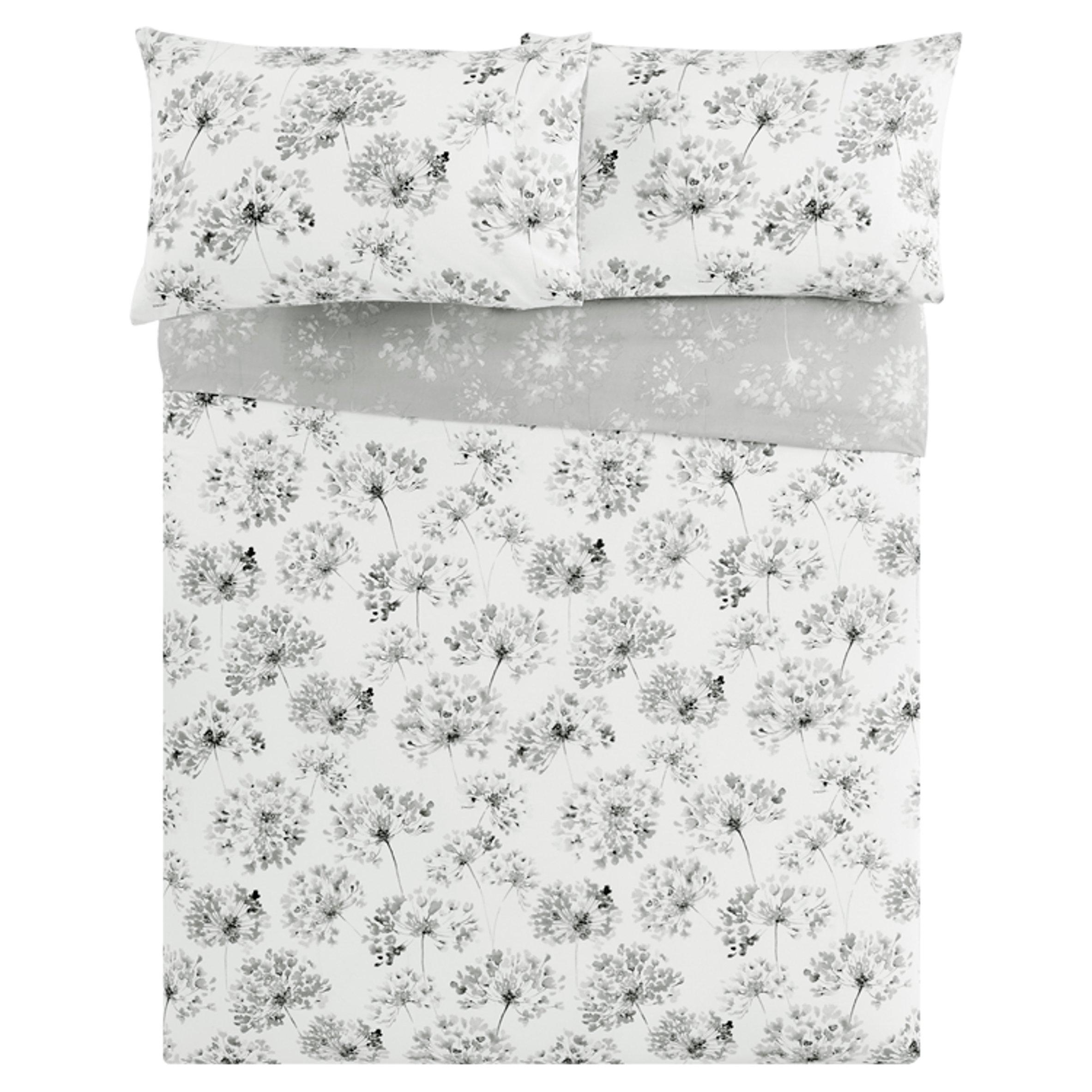 Tesco 2 Standard Pillowcases Black