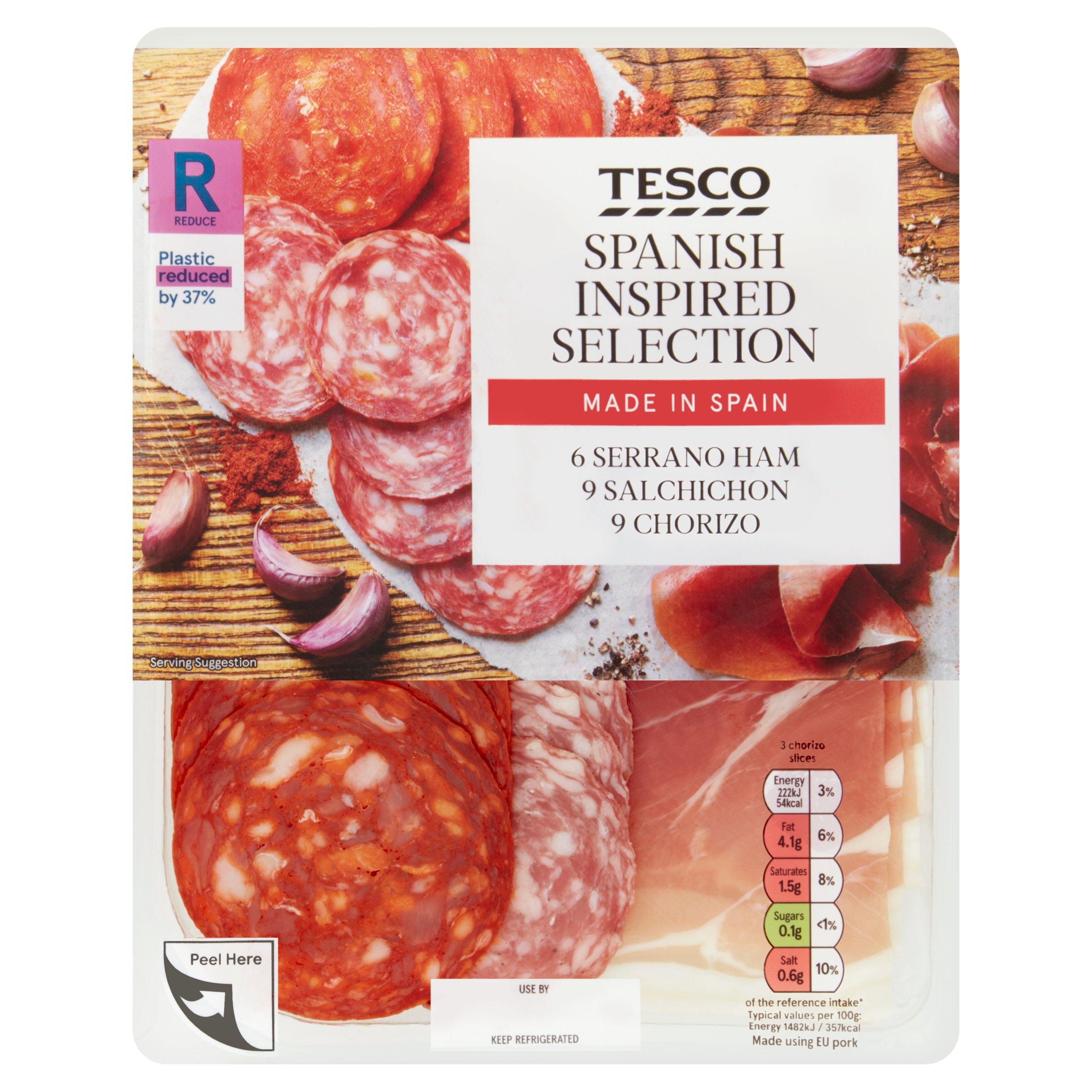 Tesco Spanish Inspired Selection 120G