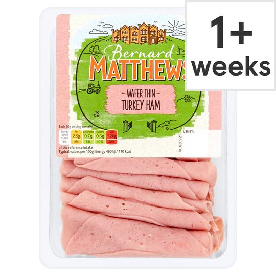 Bernard Matthews Wafer Thin Turkey Ham 250G
