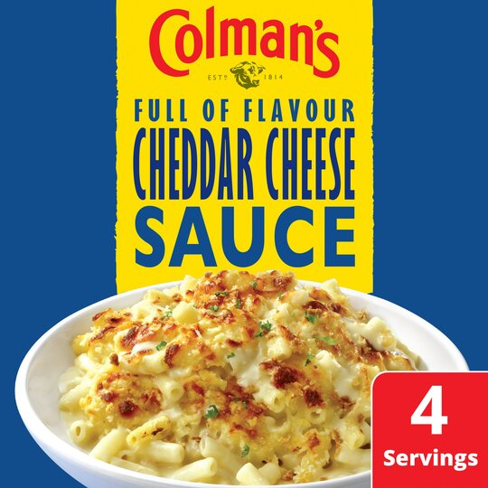 image 1 of Colman's Cheddar Cheese Sauce Mix 40G