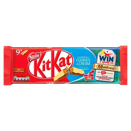 Kit Kat 2 Finger Cookies & Cream Biscuit 9X20.7G