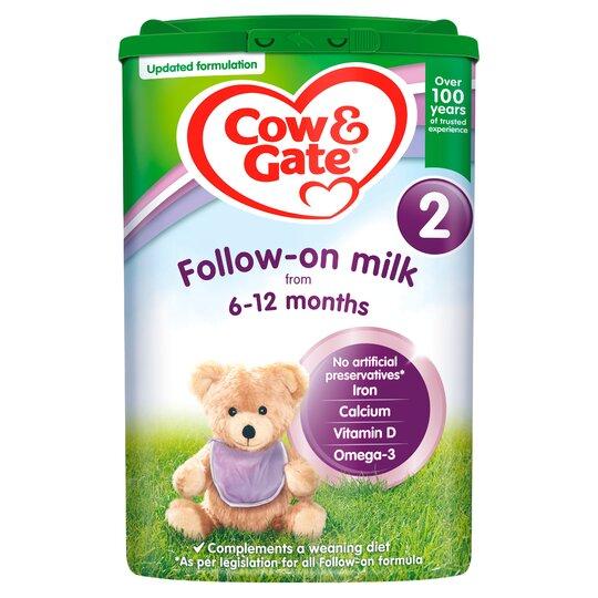 Cow & Gate 2 Follow On Milk Powder 800G