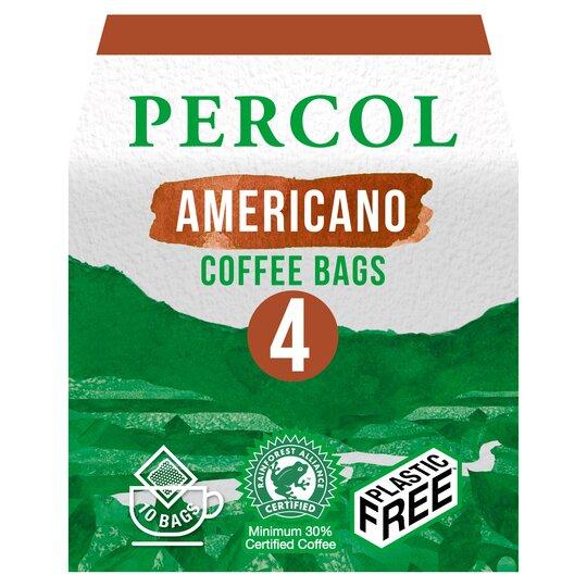 Percol All Day Americano Coffee Bags 10s 80g