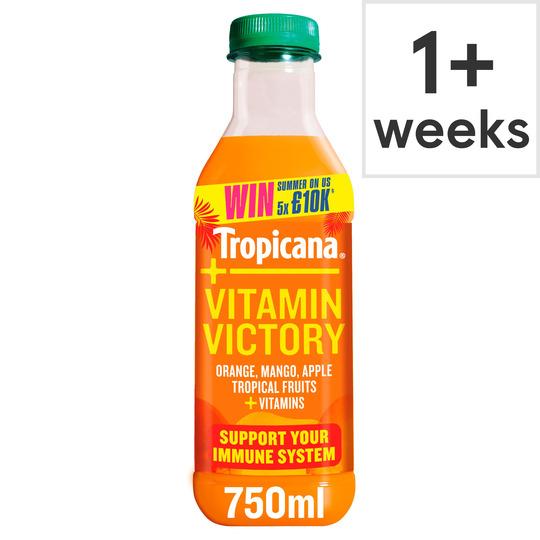 image 1 of Tropicana Plus Vitamin Victory Juice 750Ml