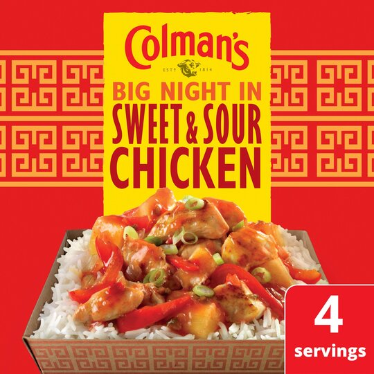 image 1 of Colman's Sweet & Sour Chicken Recipe Mix 58G