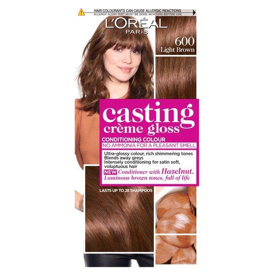 image 1 of L'oreal Casting Creme Gloss Light Brown 600 Semi-Permanent Hair Dye
