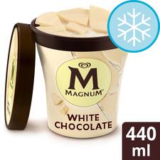 image 1 of Magnum Tub White Ice Cream 440 Ml