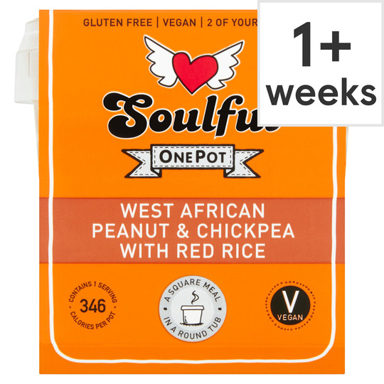 Soulful One Pot African Peanut & Chickpea Rice 380G