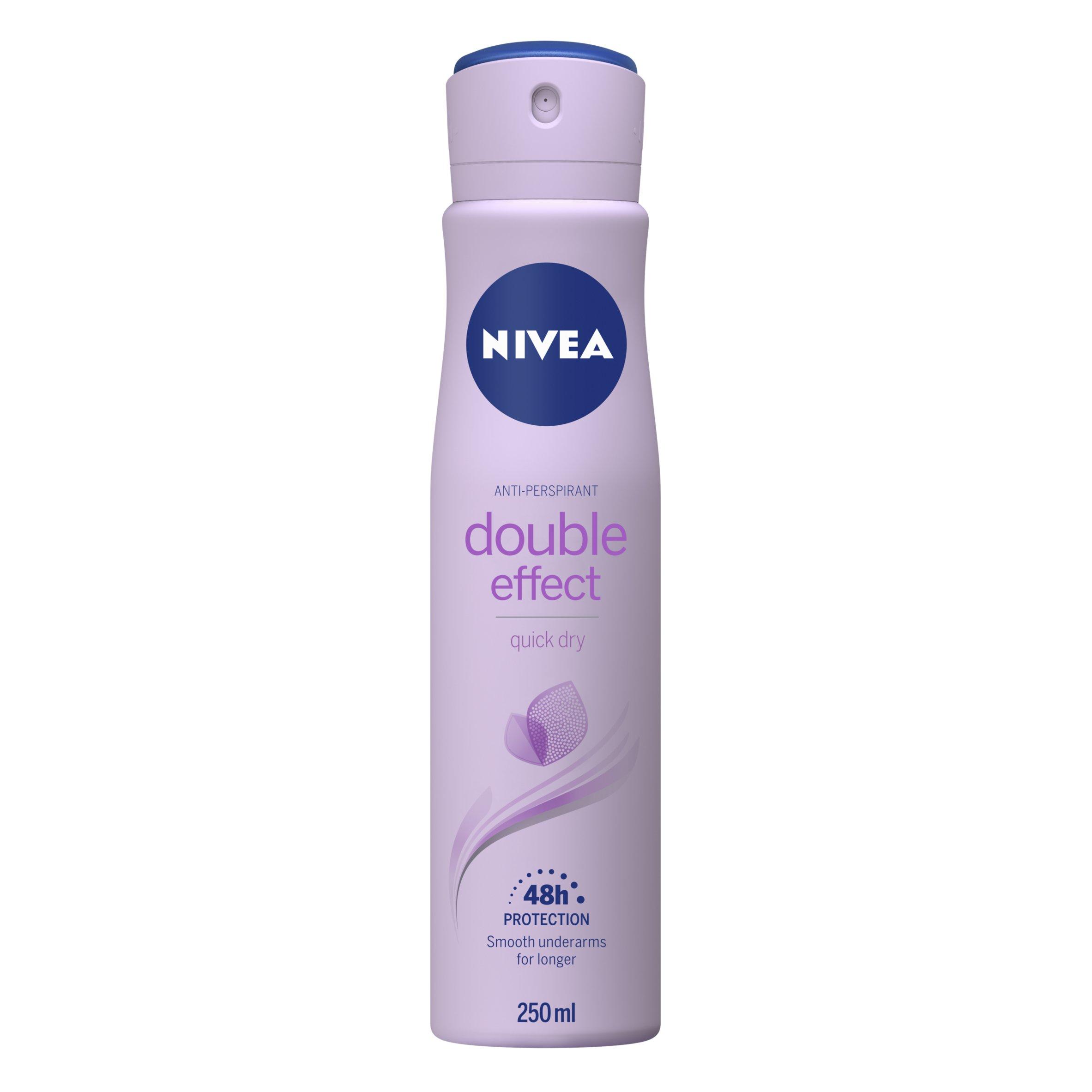 Nivea Double Effect Antiperspirant Deodorant 250Ml