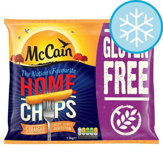 Mccain Gluten Free Home Chip 1.5Kg