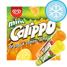 image 1 of Walls Calippo Mini Orange Lemon & Lime 6 X 80Ml