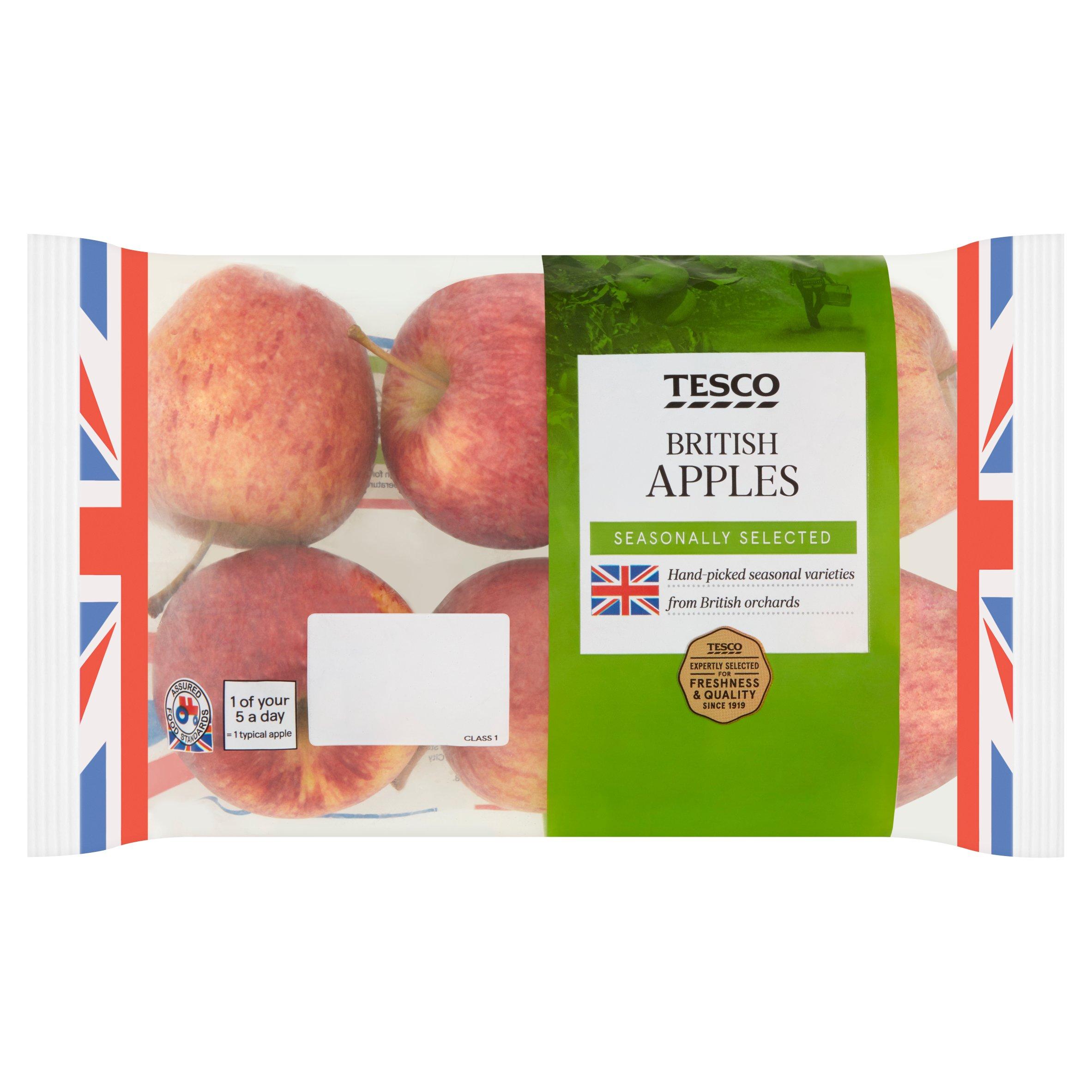 Tesco British Apple Minimum 5 Pack