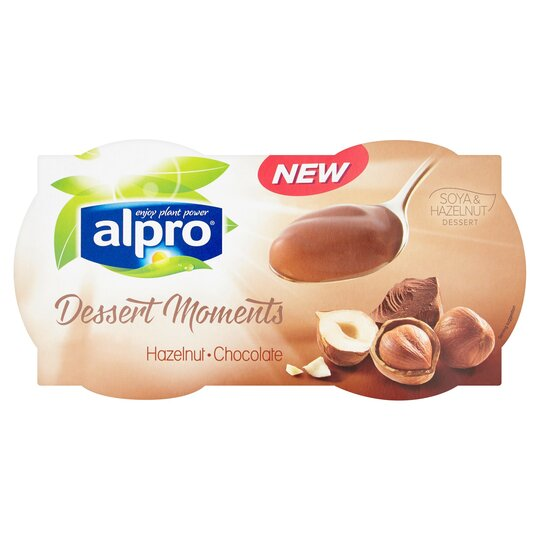 Alpro Dessert Moments Hazelnut Chocolate 4x125g