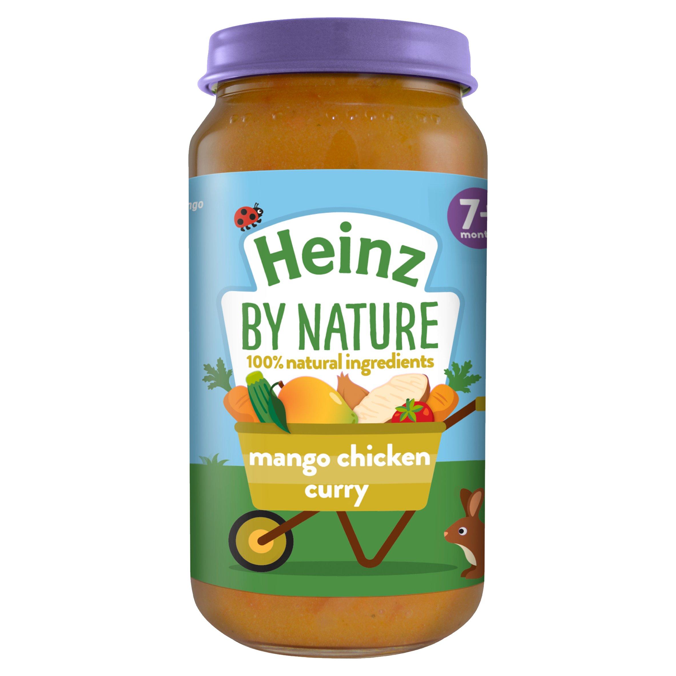 Heinz 7 Month Mums Own Very Mild Mango Chicken Curry 200G