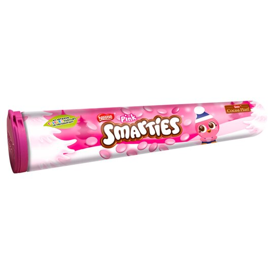 Smarties Giant Tube Pink 130G