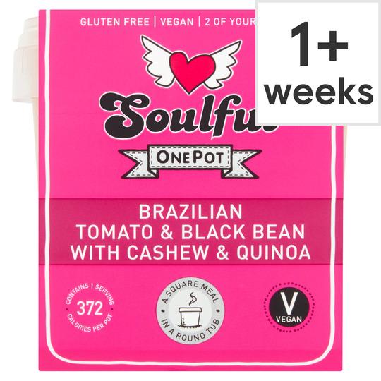 Soulful Tomato & Blackbean Cashews & Quinoa 380G