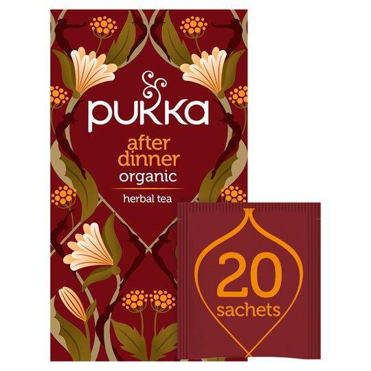 Pukka Organic After Dinner Tea 20'S 36G