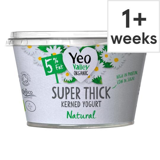 Yeo Valley Organic Super Thick Natural Yogurt 170G