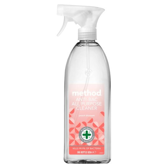 Method Anti-Bacterial All Purpose Cleaner Peach Blossom 828Ml