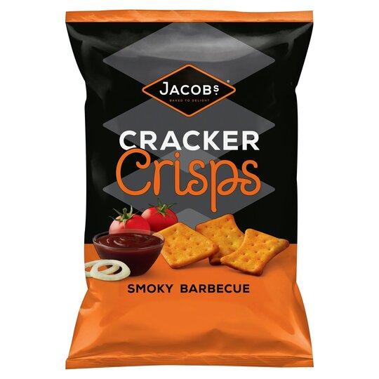 Jacobs Cracker Crisp Smokey Bbq 150G