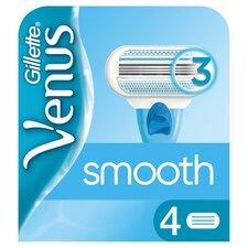 image 1 of Gillette Venus Smooth Blades 4 Pack