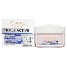 image 2 of L'oreal Paris Triple Active Night Cream 50Ml