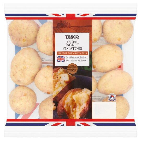 Tesco Jacket Potatoes 25kg Pack