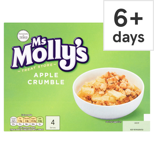 Ms Molly's Apple Crumble 462G