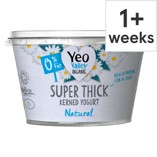 Yeo Valley Organic Super Thick 0% Natural Yogurt 170G