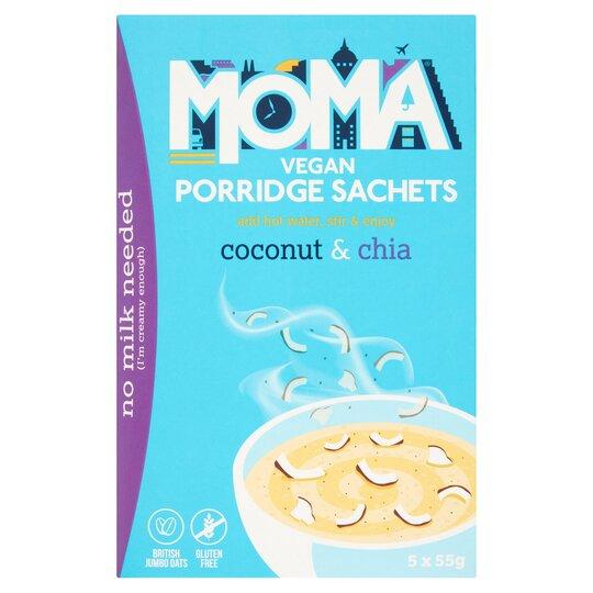Moma Porridge Coconut & Chia 5 X 55G