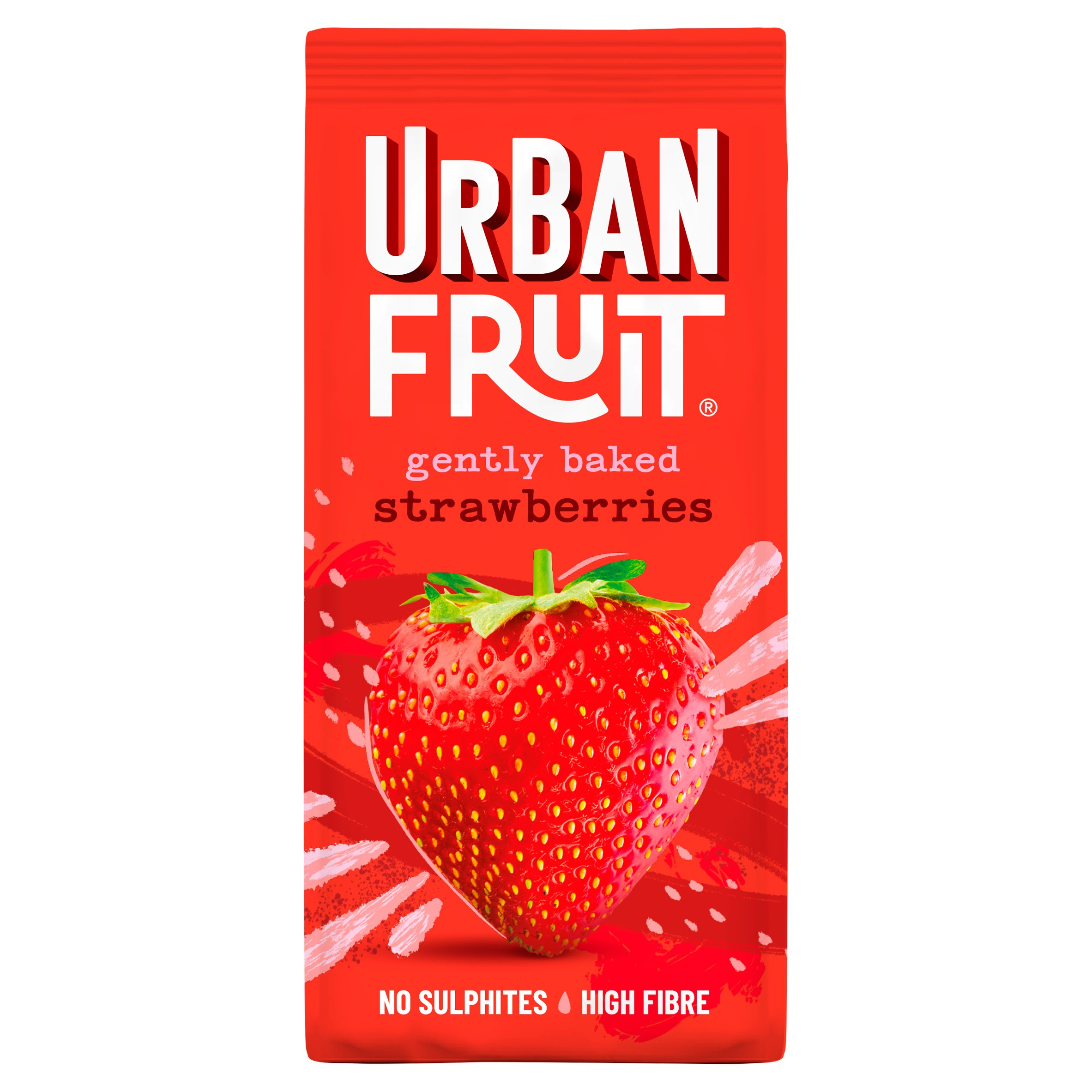 Urban Fruit Dried Strawberries 90G