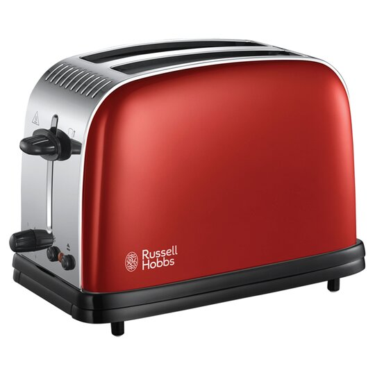 Russell Hobbs Colours 2 Slice Toaster Red