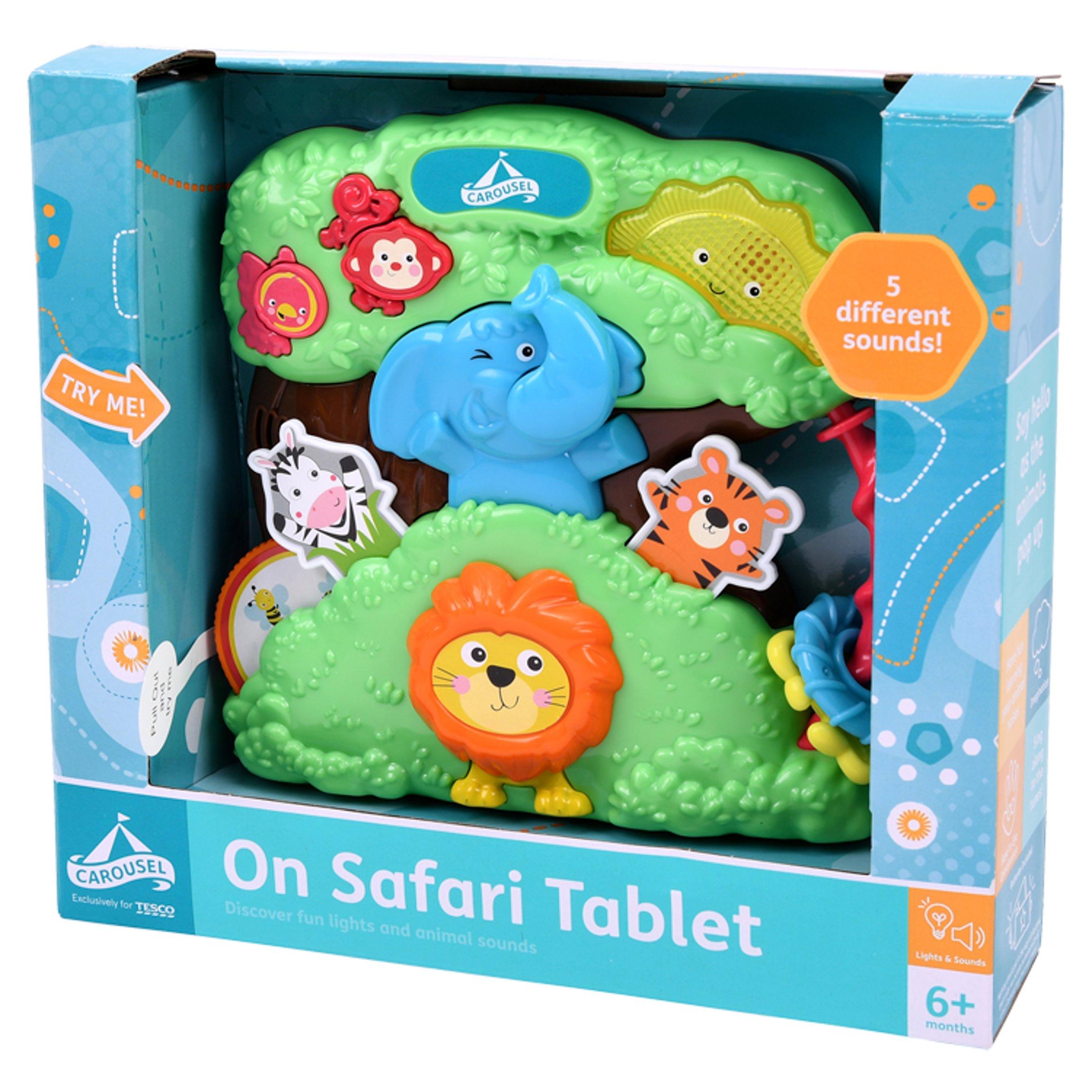 Carousel On Safari Tablet