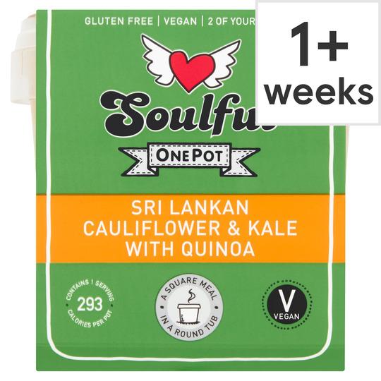 Soulful Sri Lankan Cauliflower & Kale Quinoa 380G