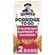 image 1 of Quaker Porridge To Go Mixed Berries 2X55g