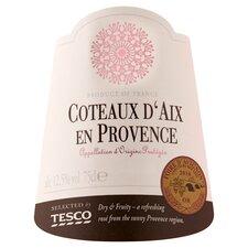 image 2 of Tesco Coteaux D'aix En Provence 75Cl