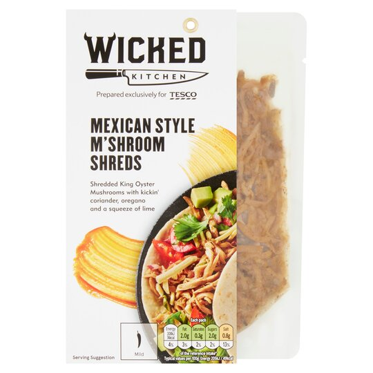 Wicked Kitchen Mexican M'shroom Sheds 150G