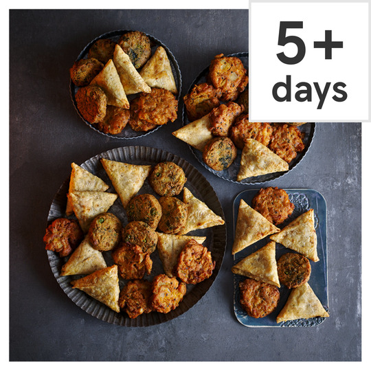 Tesco Indian Inspired Party Food Selection 48 Pieces Serves