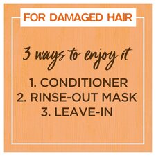 image 2 of Garnier Ultimate Blends Hair Food Papaya 3In1 Mask 390Ml