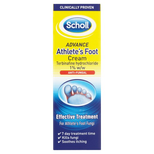 image 1 of Scholl Athletes Foot Cream Care 15G