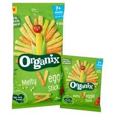 image 2 of Organix Melty Veggie Sticks 4X15g