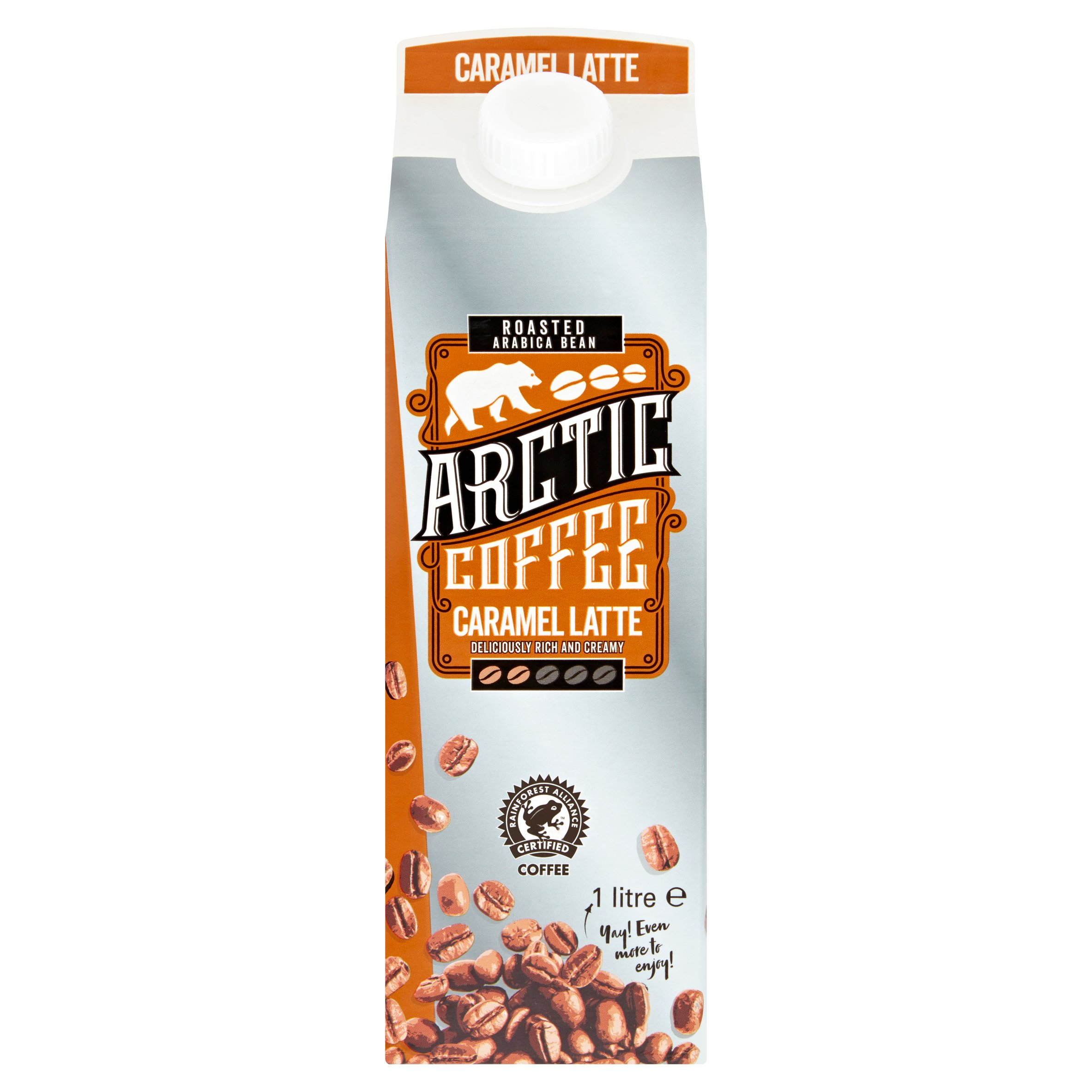 Arctic Coffee Caramel Latte 1L