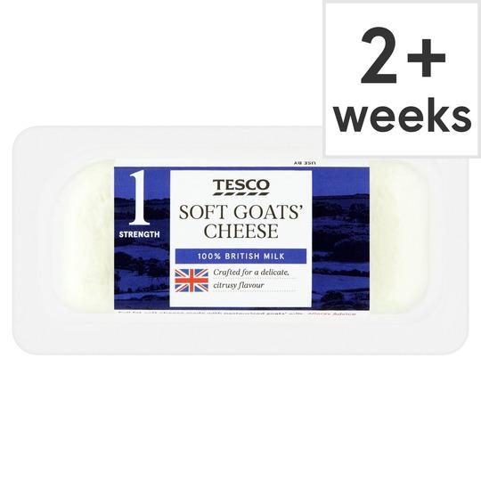 British Goats Cheese 125G