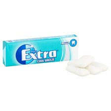 image 3 of Extra Cool Breeze Gum 10 Pieces