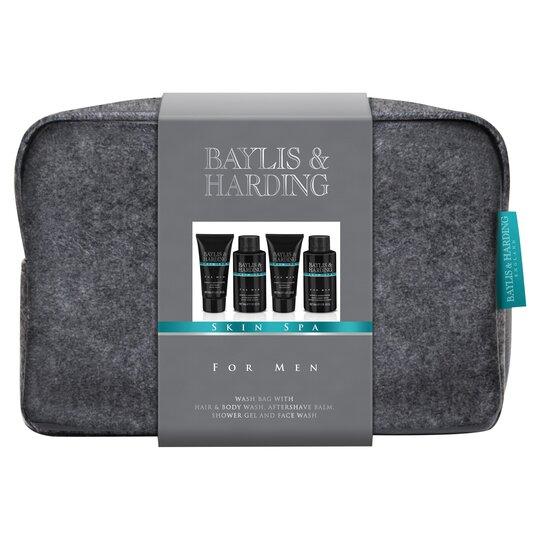 Baylis And Harding Skin Spa Men's Wash Bag Tesco Groceries