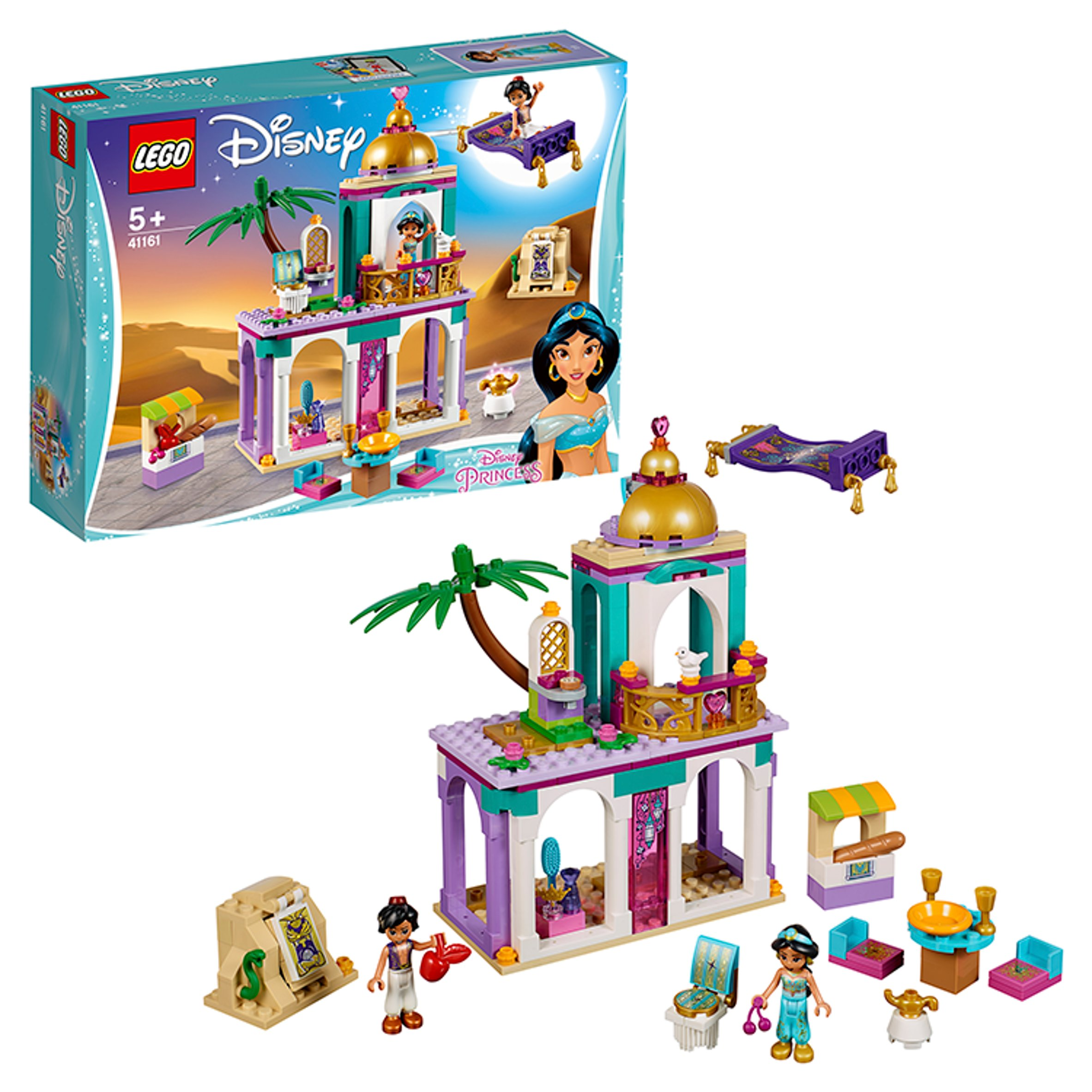 LEGO Aladdin and Jasmine/'s Palace Adventures Set 41161